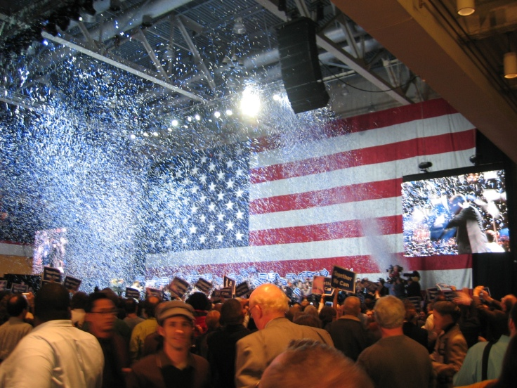 Election Night 2006 confetti