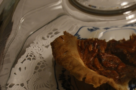 Nearly perfect pecan pie