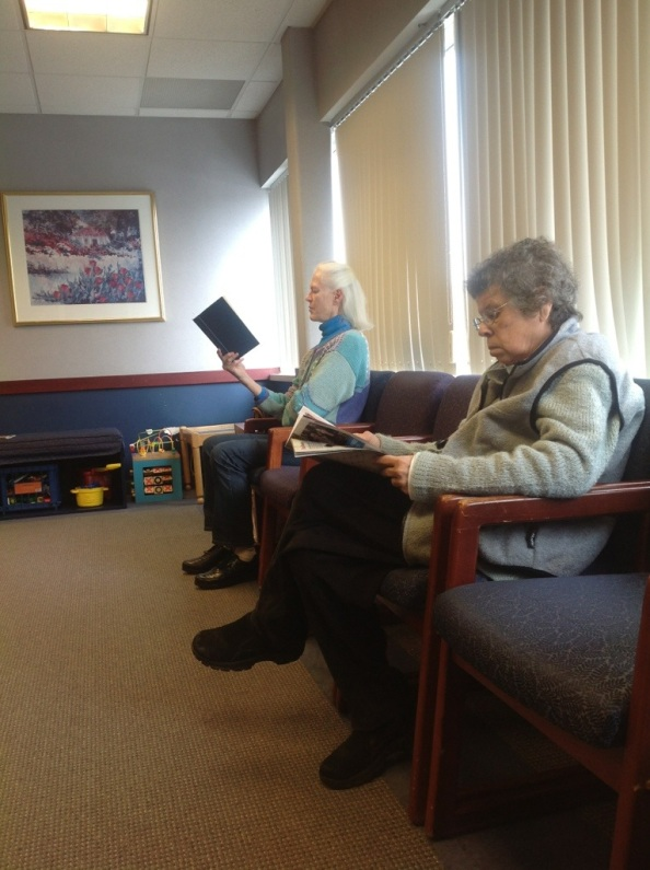 New England Winter: The Waiting Room