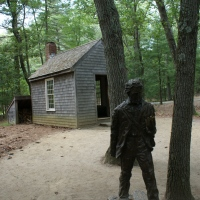 Photo Essay: A Stop at Walden Pond on Thoreau's Birthday