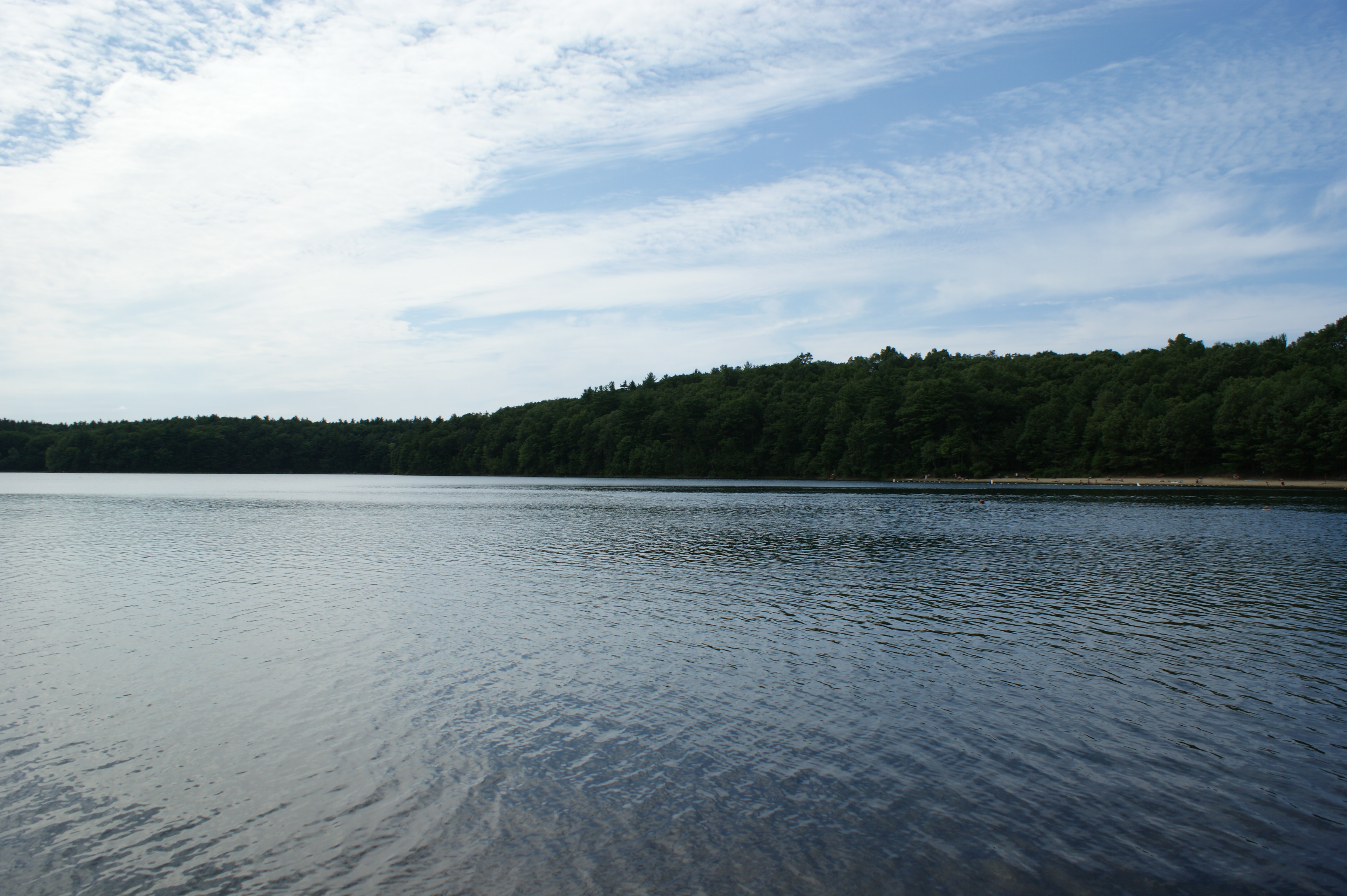 photo essay a stop at walden pond on thoreau s birthday  and you can look at this