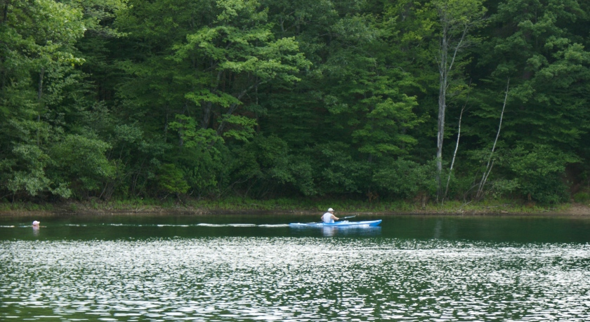 ... or stalk a kayaker here ...