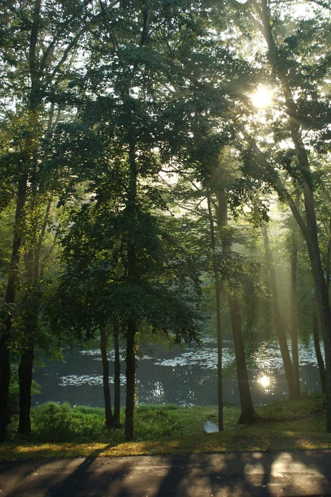 Sunrise on September 11, 2013