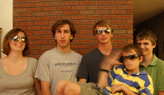 Alex Fichera and some members of his original East Coast film crew, circa 2011.