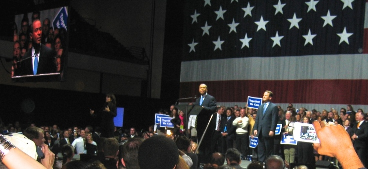 The good old days: Deval Patrick is elected Governor of Massachusetts, 2006